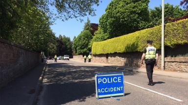 Culduthel Road: Police are making enquiries into the incident.