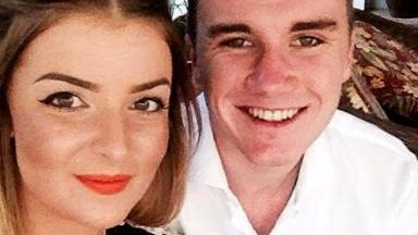Madison Rice: Crash victim with boyfriend Joe Perry.