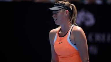 Maria Sharapova: Ban due to end on January 25, 2018.