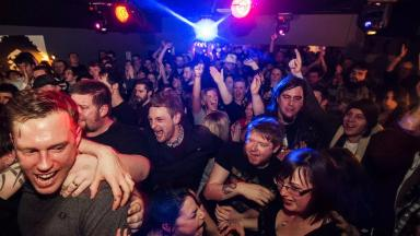 Downstairs: Venue forced to shut its doors (file pic).