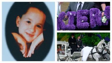 Funeral: Kiera Beagle was laid to rest on Thursday.