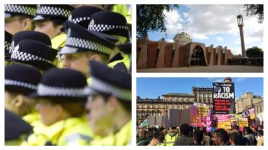 Police: Deputy chief constable says 'community cohesion' is greater in Scotland.
