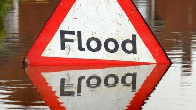 Floods: Alert over potential disruption (file pic).