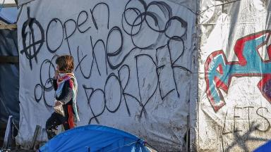Life is tough for children at camps in Calais and Dunkirk