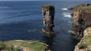 Orkney: Highest life satisfaction in Scotland.