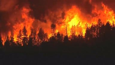 Wildfires are raging in Southern California and New Mexico.