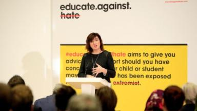 Concerned: Nicky Morgan making a speech in January.