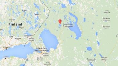 The accident happened in lake Syamozero, in northern Russia