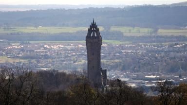 The Wallace Monument in Stirling. Uploaded June 19, 2016.