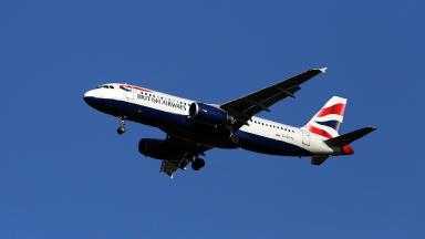 BA halted flights in November in response to government advice