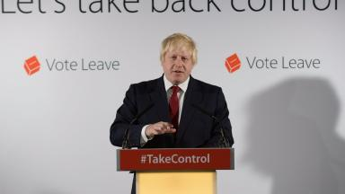 Boris Johnson: Vote 'does not mean that the United Kingdom will be in any way less united'.