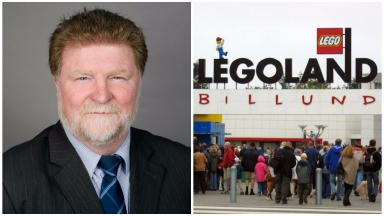 Martin Kitts-Hayes: Trip to Legoland described as a 'sorry episode'.