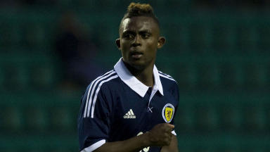 Islam Feruz makes his debut for Scotland U21