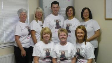 Challenge: Family and friends of Amanda Jane Duffy are in training for the West Highland Way