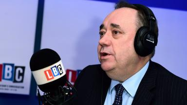 Alex Salmond on LBC Radio show, 2016