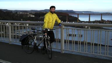 Local cyclist Kim Harding hopes Edinburgh can become more bike-friendly