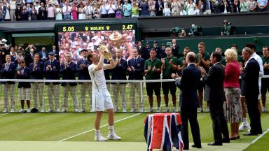 Andy Murray is the 2016 Wimbledon champion.
