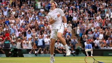 When you realise you are the 2016 Wimbledon champion.