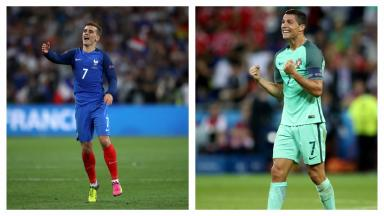 France take on Portugal