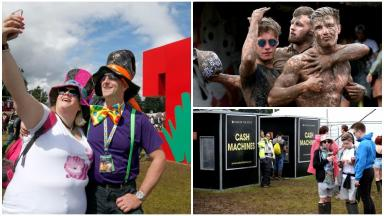 T in the Park: Madness-as-usual for Scottish festival.