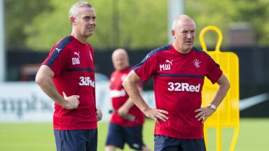 Mark Warburton and David Weir will remain at Rangers until 2019.