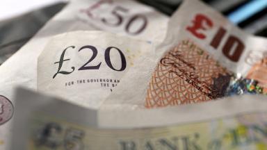 UK bank notes.