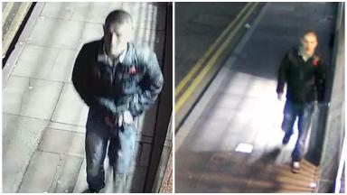 Appeal: Police want to hear from anyone who recognises this man.