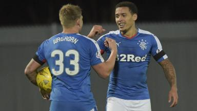 Martyn Waghorn and James Tavernier are yet to agree new Rangers deals.