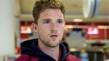 Progress: Jack Hamilton wants to establish himself at Hearts number one