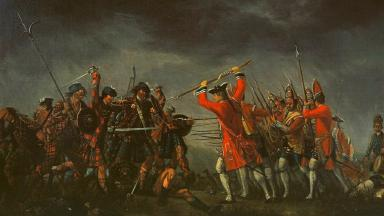 Myths: Highlanders more likely to have carried muskets than swords.