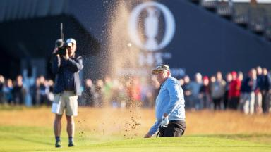 Colin Montgomerie made the cut at The Open.