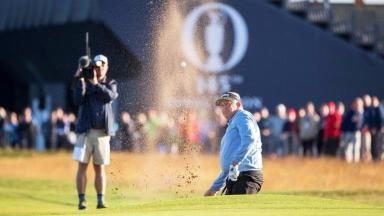 Colin Montgommery at The Open 2016