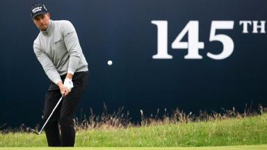 Leader: Stenson and Mickelson are at the top.