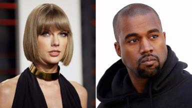 Taylor Swift and Kanye West have fallen out over his song 'Famous'