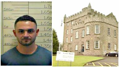 Prisoner: Kieran Kiely was traced on Monday.