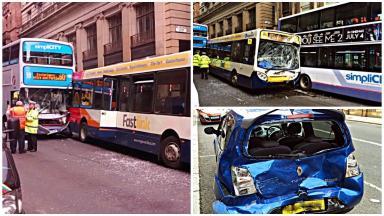Crash: Two men were injured.
