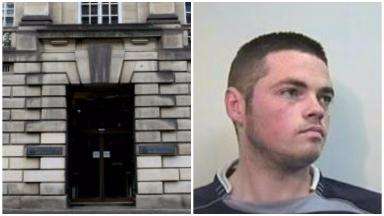 Sentenced: Damien Menzies was jailed for more than seven years.