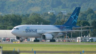 Air Transat: The pilots were arrested in Glasgow on suspicion of being drunk.