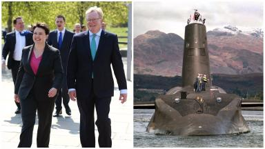 Jackson Carlaw: The Scottish Tory deputy, pictued  called SNP opposition to Trident hypocritical.
