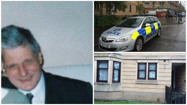 Victim: Gordon Bolam was found dead at his home in Pollokshields.