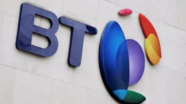 BT: Problems with internet services (file pic).