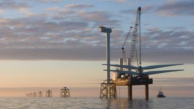 Aberdeen Bay: The project has faced a series of legal challenges from Donald Trump.