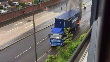 Lorry Fire - News Now