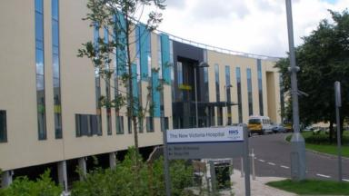 A woman died at New Victoria Hospital following a hip operation.