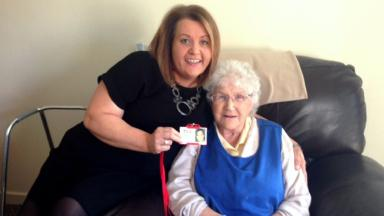 Laura Duncan and Irene Anderson who take part in TLC befriending programme