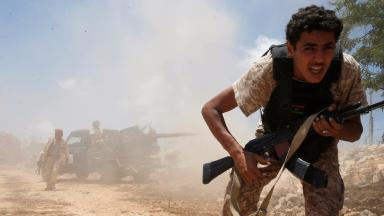 GNA-aligned forces have been battling Islamic State in Sirte since May