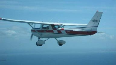 Incident: A Cessna plane had to make an emergency landing (file pic).