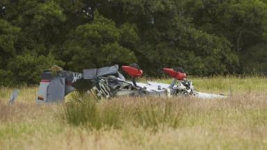 Crash: The plane came down near Oban.