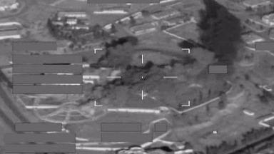 The RAF targeted an IS training base located in a former Saddam Hussein palace.
