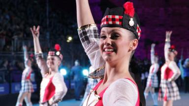 Tattoo treat: The Royal Edinburgh Military Tattoo is underway.